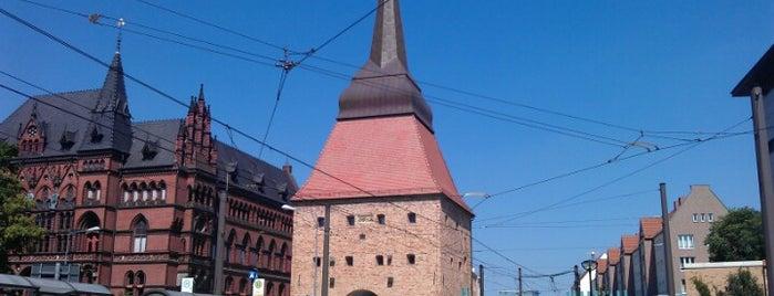 Steintor is one of Rostock/Warnemünde.