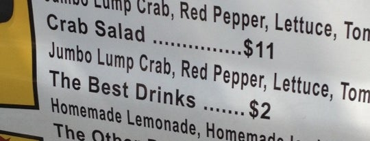 Feelin' Crabby is one of Places To Eat.