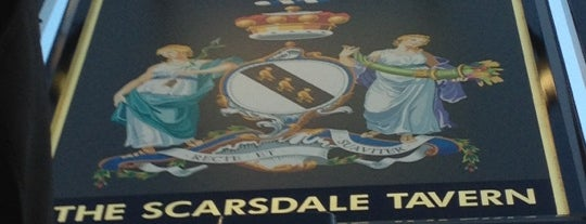 The Scarsdale Tavern is one of STA Travel Favorite London Pubs.