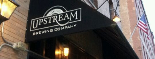 Upstream Brewing Company is one of Brent 님이 저장한 장소.
