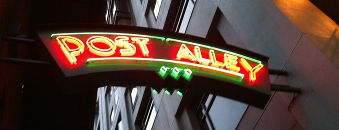 Post Alley Sign is one of Seattle.