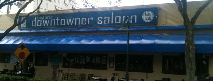 Downtowner Saloon is one of Restaurants.