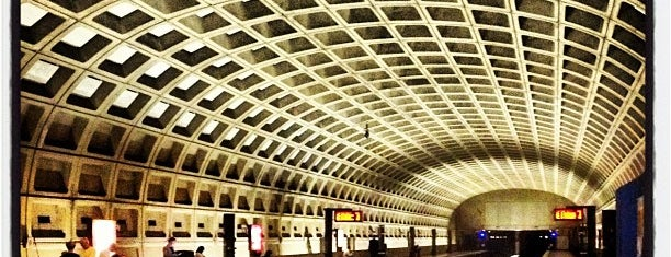 Pentagon City Metro Station is one of Washington D C.