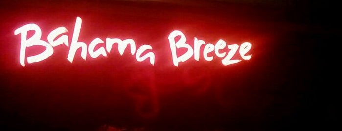 Bahama Breeze is one of Food.