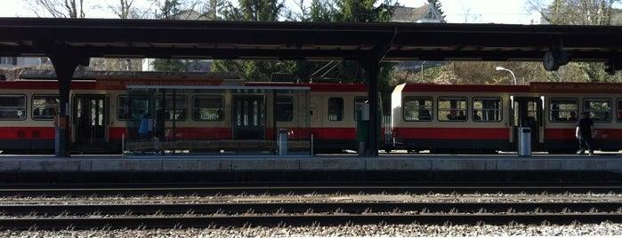 Bahnhof Liestal is one of schon gemacht 2.