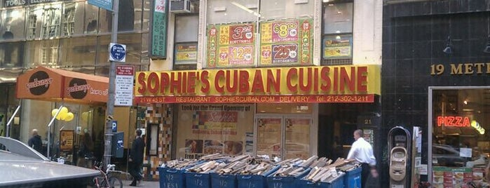 Sophie's Cuban Cuisine is one of Midtown Foods.
