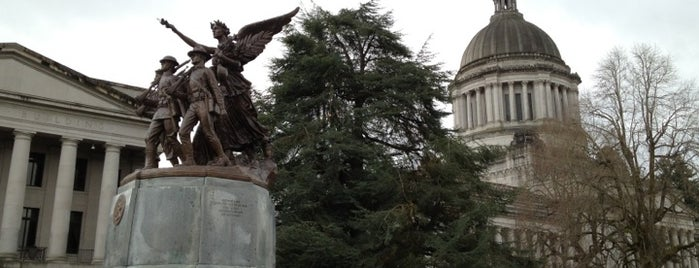 Washington State Capital Campus is one of U.S. Road Trip.