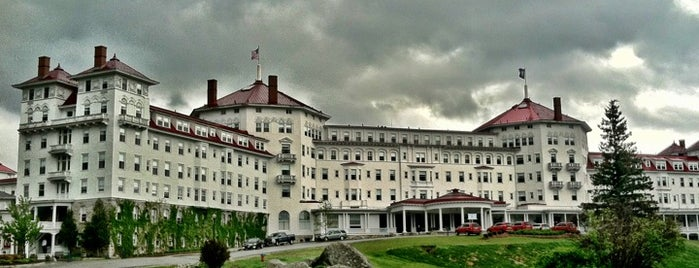 Omni Mount Washington Resort is one of Because Foursquare F*cked Up Their List Feature 2.