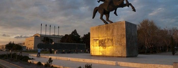 Άγαλμα Μεγάλου Αλεξάνδρου is one of Thessaloniki #4sqCities.
