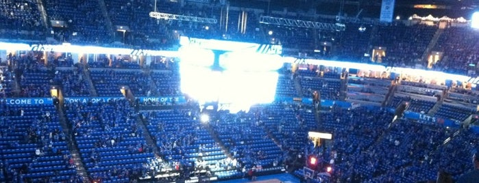 Chesapeake Energy Arena is one of NBA Arena Guide.