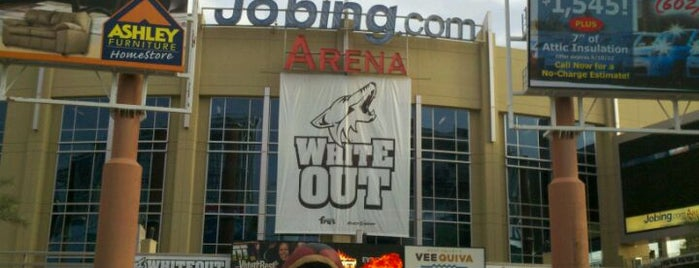 Gila River Arena is one of Sporting/Concert....