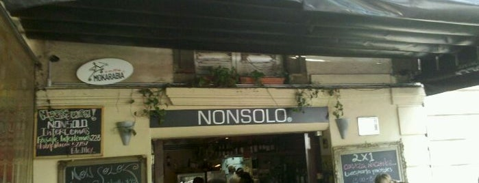 NonSolo is one of Locais curtidos por Ye.