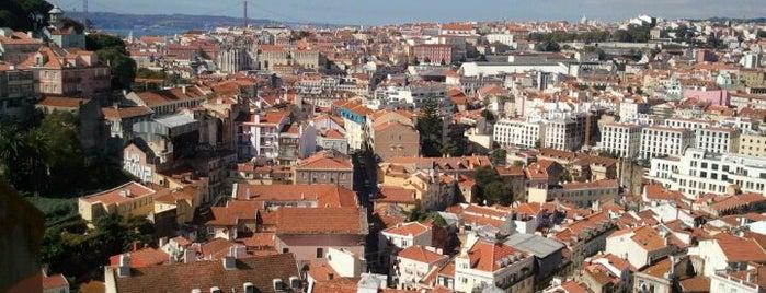Miradouro Sophia de Mello Breyner Andresen is one of Lisbon where to eat & have fun.
