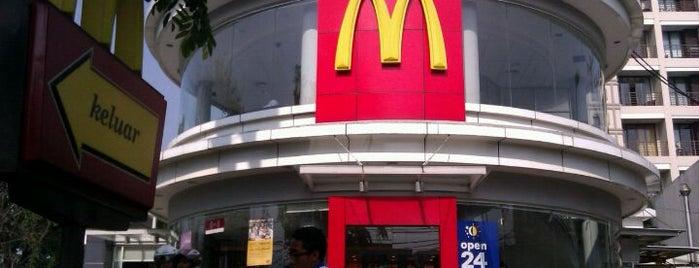 McDonald's / McCafé is one of Bandung Tourism: Parijs Van Java.
