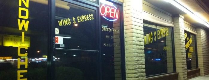 wings express is one of Tempat yang Disukai Andy.