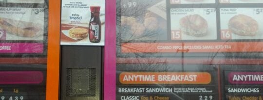 Dunkin' is one of Mo's Liked Places.