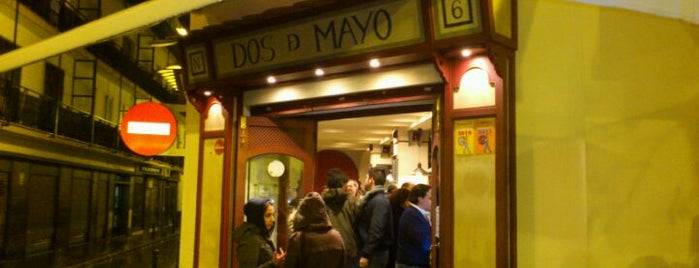 Dos de Mayo is one of Posti salvati di Shanshan.