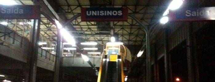 Trensurb - Estação Unisinos is one of Estações Trensurb.