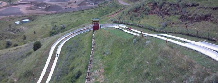 Alpine Slide @ Heritage Square is one of 102 places in colorado.