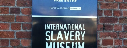 International Slavery Museum is one of Favorite places in the UK.