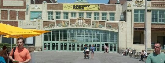Asbury Park Boardwalk is one of East Coast Travel List.