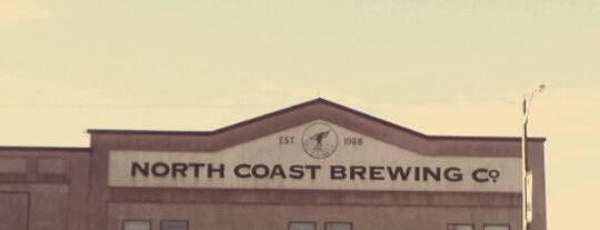 North Coast Brewing Co. Taproom & Grill is one of Beer / RateBeer's Top 100 Brewers [2015].