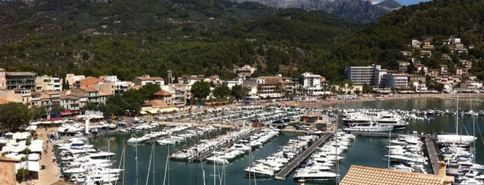 Port de Sóller is one of Palma De Mallorca.