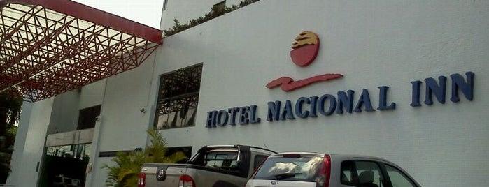 Hotel Nacional Inn Recife is one of Lugares recomendados.