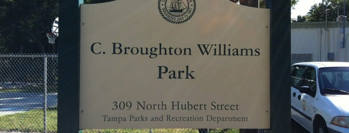 Charles B. Williams Park is one of City of Tampa Parks.