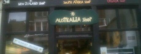 The Australia Shop is one of An Aussie's fav spots in London.