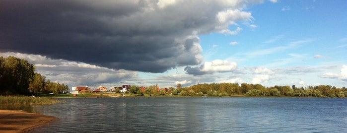 Истринское водохранилище is one of Posti che sono piaciuti a Jano.