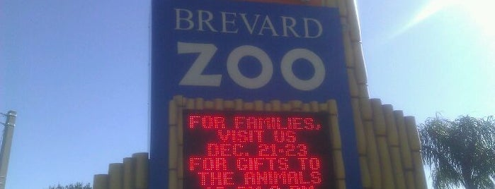 Brevard Zoo is one of Where I have been.