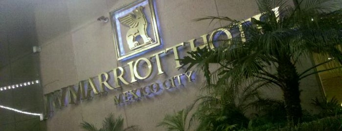 JW Marriott Hotel Mexico City is one of CDMX.