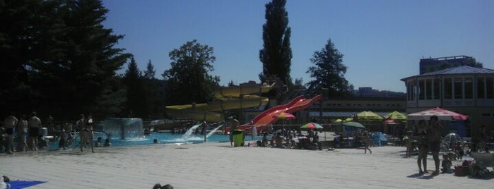 Aquapark Blansko is one of Kde koupit - FIZZ cider.