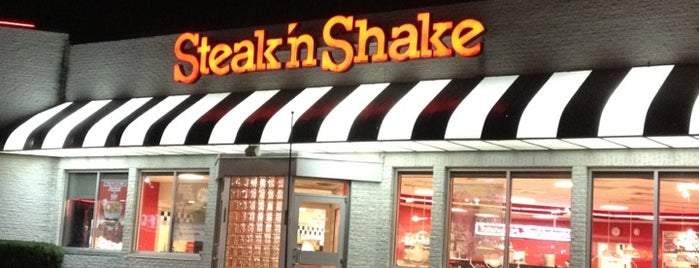 Steak 'n Shake is one of Joey'in Beğendiği Mekanlar.