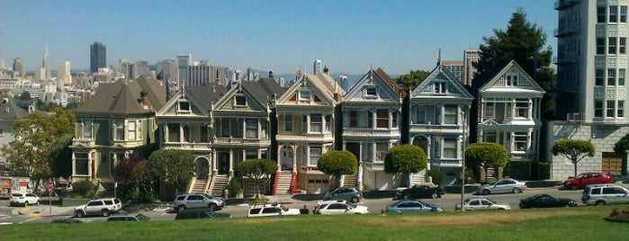 Alamo Square is one of San Francisco.