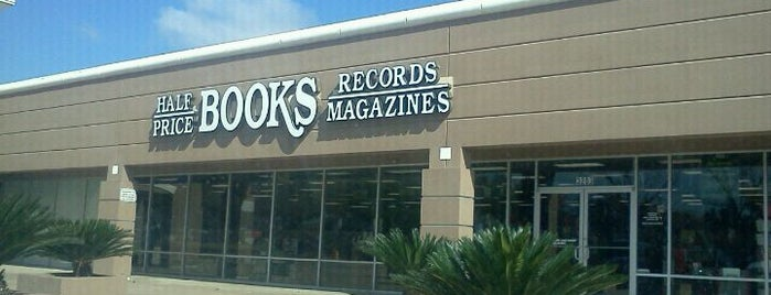 Half Price Books is one of Houston.