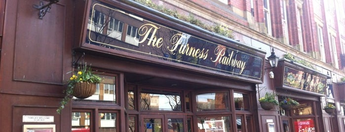 The Furness Railway (Wetherspoon) is one of Locais salvos de Michael.