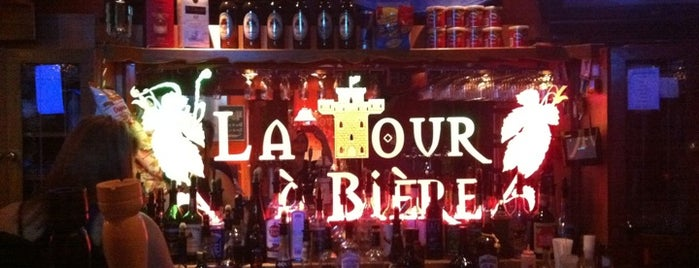La Tour à Bières is one of Microbrasseries Québec.