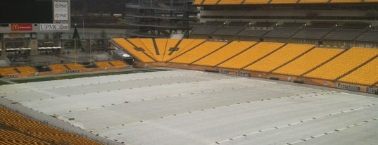 Heinz Field is one of Stadiums Visited.