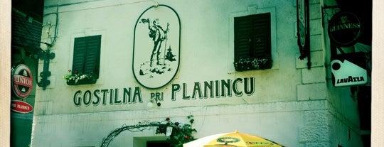 Gostilna Pri Planincu is one of Slovenia 2013.