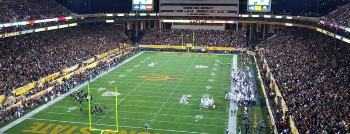 Sun Devil Stadium is one of Great Sport Locations Across United States.
