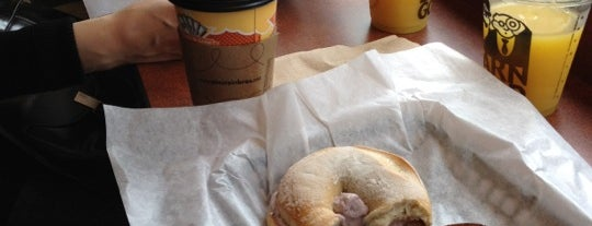 Einstein Bros Bagels is one of Live like @scottkleinberg.