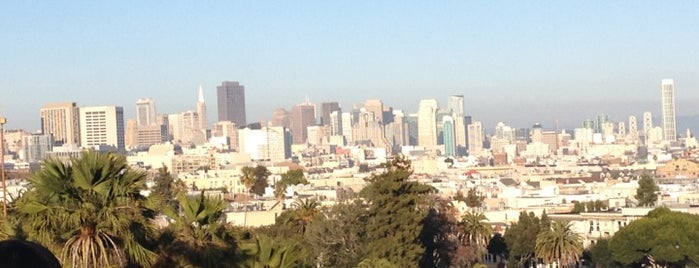 Mission Dolores Park is one of My SF Bucket List.
