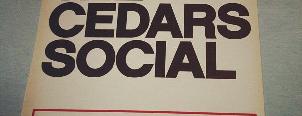The Cedars Social is one of * Simply Gr8 Dallas Dining (DFdub General) USA.