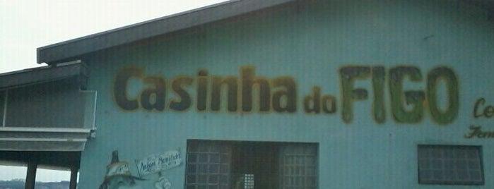 Casinha do Figo com Chocolate is one of สถานที่ที่ Fábio ถูกใจ.
