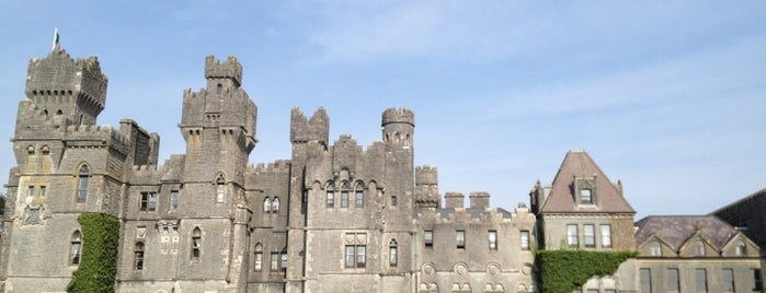 Ashford Castle is one of Condé Nast Traveler Platinum Circle 2013.