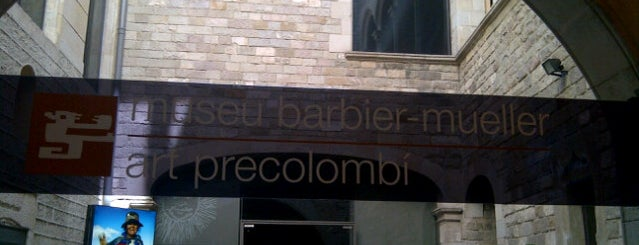 Museu Barbier-Mueller d'Art Precolombí is one of I love Museum.