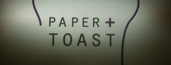 Paper + Toast is one of Locais salvos de Eric.