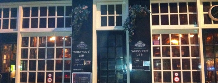 Whisky Café L&B is one of new amsterdam.